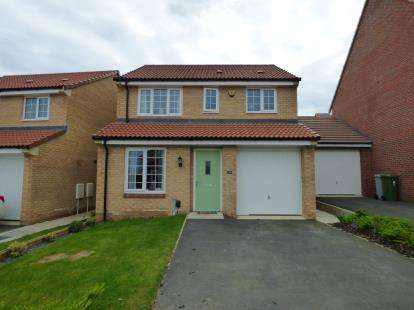3 Bedrooms Detached House for sale in Knightjar Way, Rainworth, Nottingmahsire