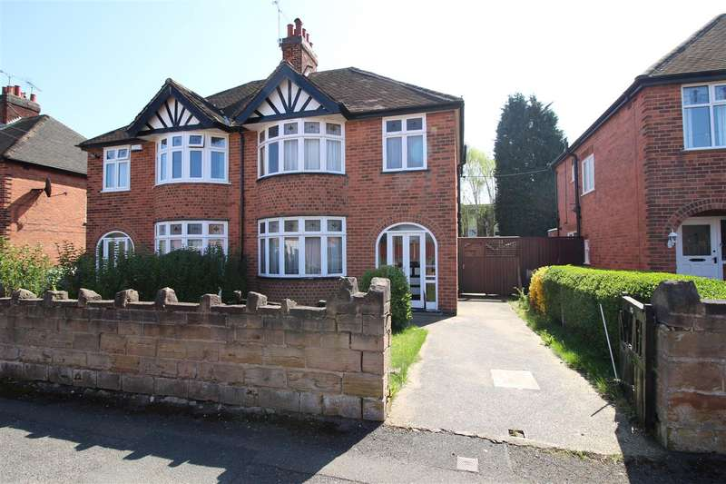3 Bedrooms Semi Detached House for sale in Kenilworth Road, Beeston, Nottingham