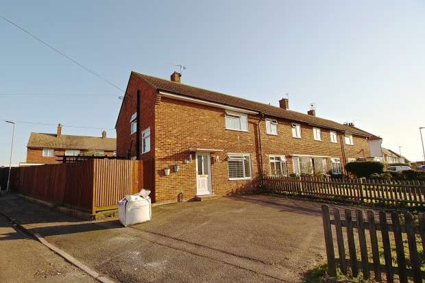 3 Bedrooms End Of Terrace House for sale in Slindon Crescent, Eastbourne, BN23