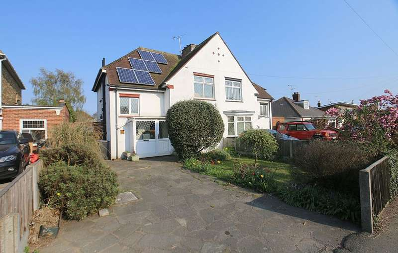 3 Bedrooms Semi Detached House for sale in Ramsgate Road, Broadstairs, Kent, CT10 2EP