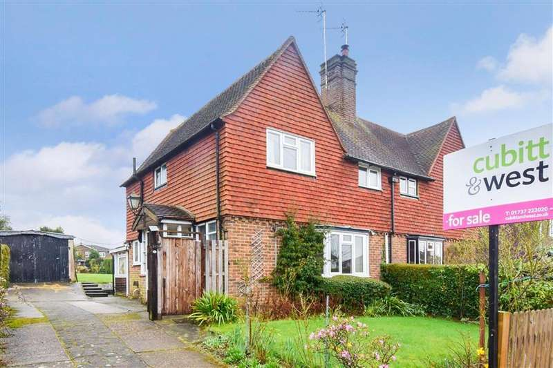 3 Bedrooms Semi Detached House for sale in Church Road, Reigate, Surrey