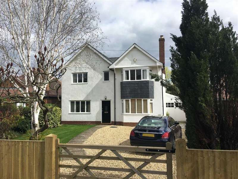 4 Bedrooms Detached House for sale in Sutton Road, Shrewsbury