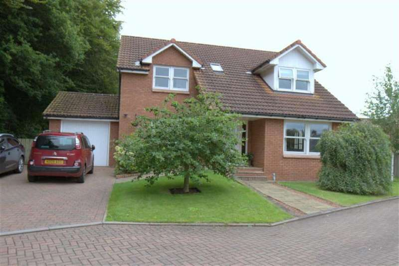 4 Bedrooms Detached House for sale in Woodside Park, Horncliffe, Berwick Upon Tweed, TD15