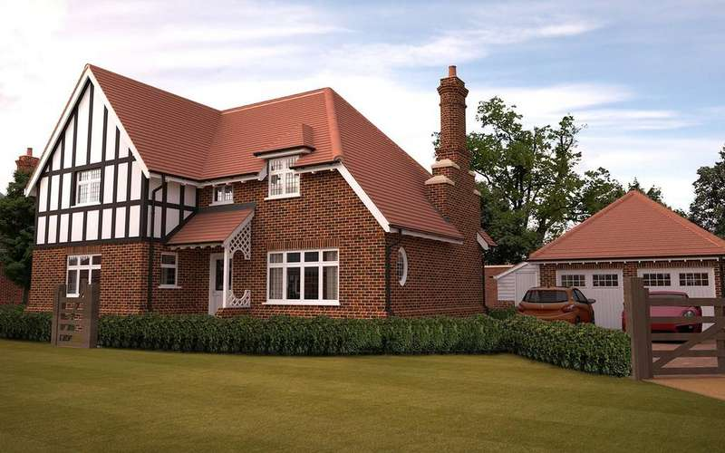 4 Bedrooms Detached House for sale in Pinehurst, Petwood Oaks, Monument Road, Woodhall Spa, LN10