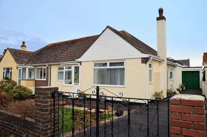 2 Bedrooms Semi Detached Bungalow for sale in WESTOVER CLOSE, BRIXHAM