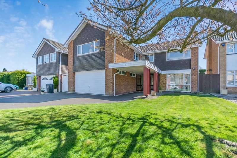 5 Bedrooms Detached House for sale in Rollswood Drive , Solihull