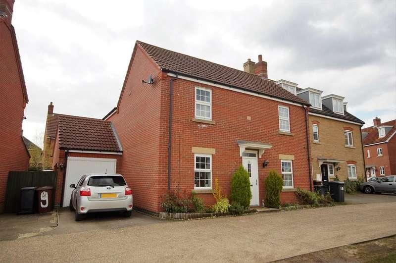 4 Bedrooms Detached House for sale in Bobbin Lane, Lincoln