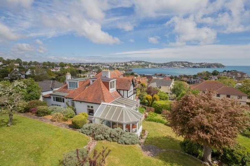 5 Bedrooms Detached House for sale in Wheatridge Lane, Torquay, TQ2