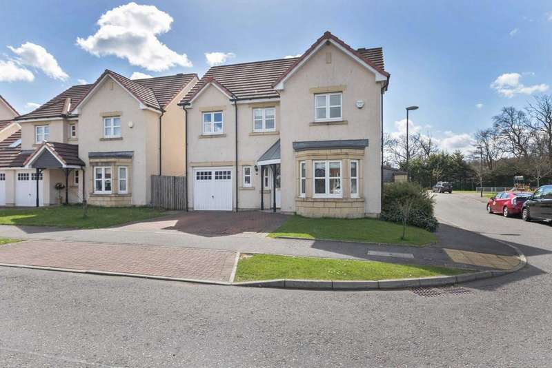 4 Bedrooms Detached House for sale in 40 Buie Brae, Kirkliston, Edinburgh, EH29 9FB