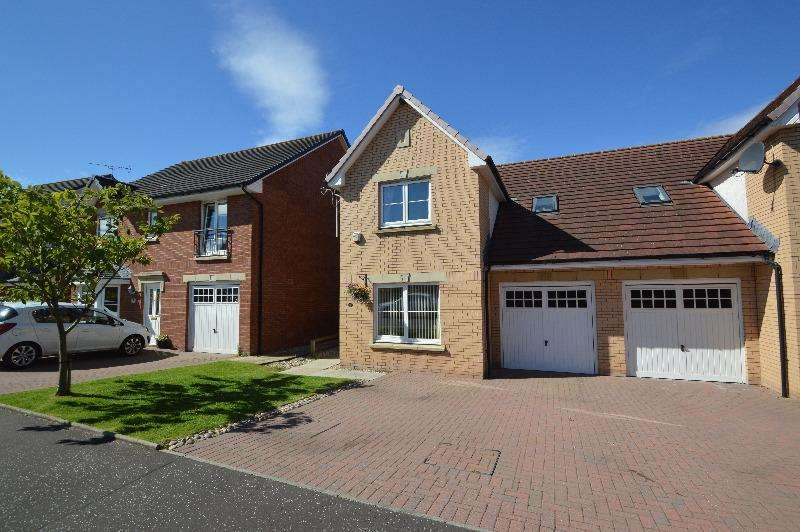 3 Bedrooms Semi Detached House for sale in Allan Gardens, Saltcoats, North Ayrshire, KA21 6GH