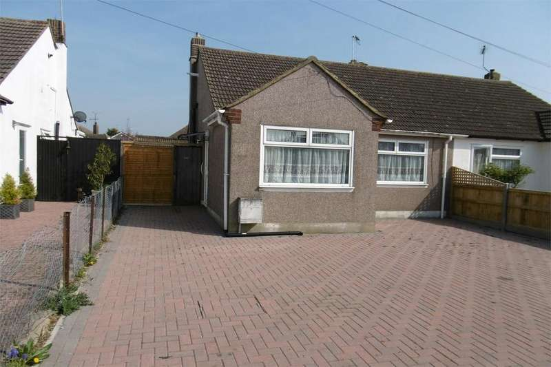2 Bedrooms Semi Detached Bungalow for sale in Clare Drive, Herne Bay, Kent