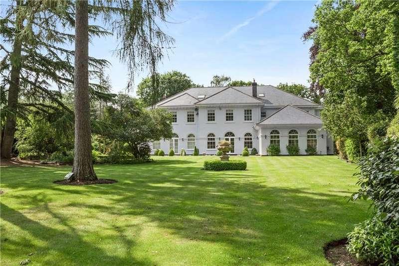 7 Bedrooms Detached House for sale in Old Avenue, St George's Hill, Weybridge, Surrey, KT13