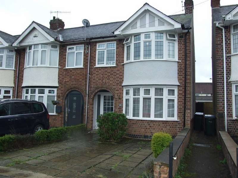 3 Bedrooms End Of Terrace House for sale in Prince Of Wales Road, Coventry