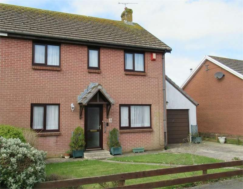 3 Bedrooms Semi Detached House for sale in 3 Maes Awel, Scleddau, Fishguard, Pembrokeshire