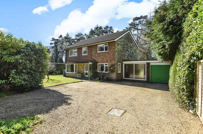4 Bedrooms Detached House for sale in Wood Road, Hindhead, GU26