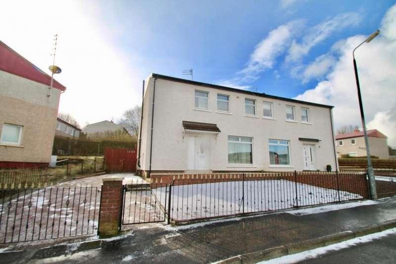 3 Bedrooms Semi Detached House for sale in Harmetray Street, Milton G22, G22 7RZ