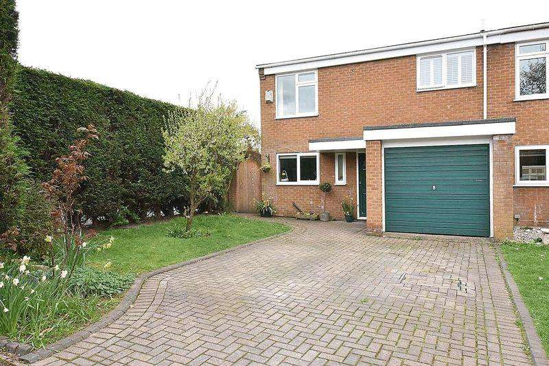 3 Bedrooms Semi Detached House for sale in Rensherds Place, High Legh