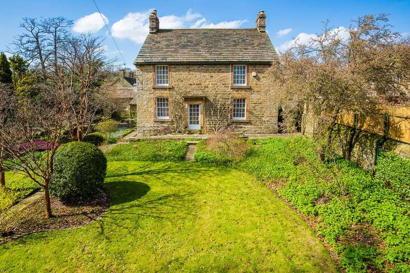 4 Bedrooms Detached House for sale in The Mill House, Calver Road, Baslow, DE45 1RP