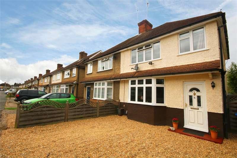 3 Bedrooms Semi Detached House for sale in Wordsworth Road, Addlestone, Surrey, KT15