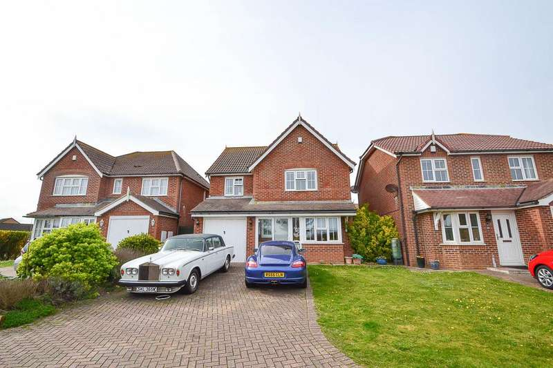 4 Bedrooms Detached House for sale in Magellan Way, Eastbourne