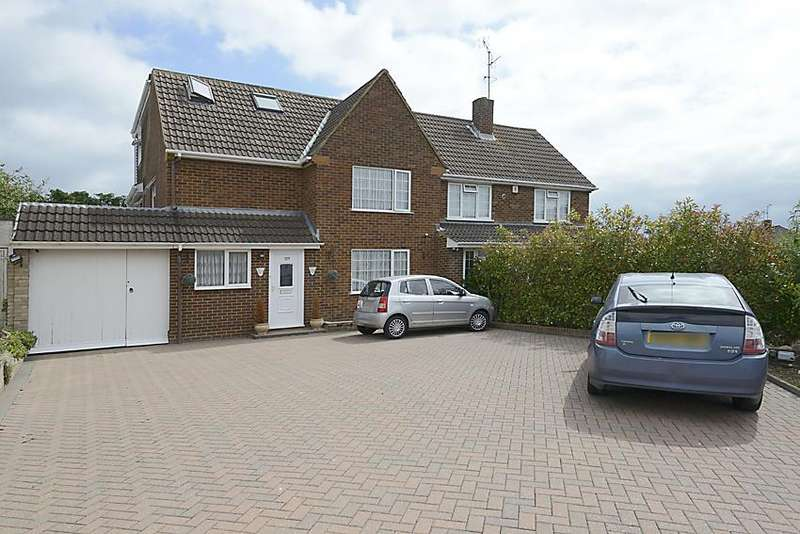 5 Bedrooms Semi Detached House for sale in Silverdale Road, Earley, Reading