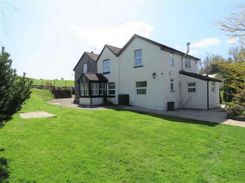 5 Bedrooms Detached House for sale in Groes-Pluen, Groes-Pluen Welshpool, SY21