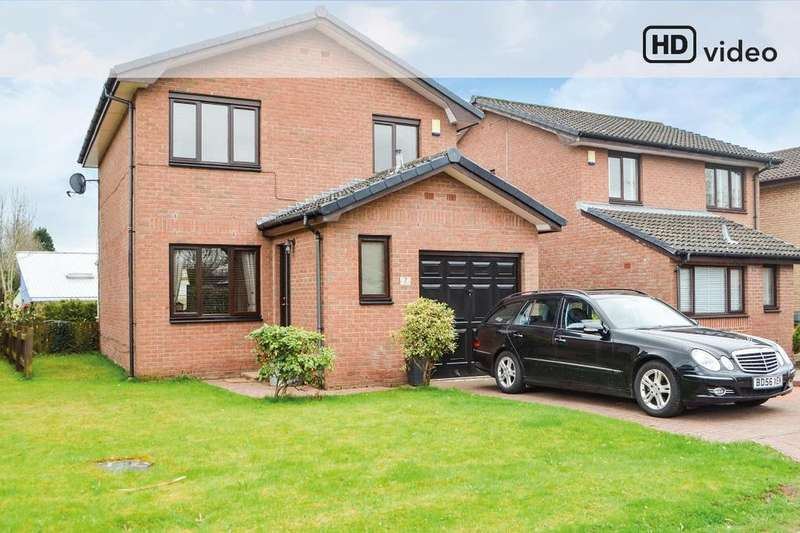 3 Bedrooms Detached House for sale in Campbell Crescent, Bothwell, South Lanarkshire, G71 8HD