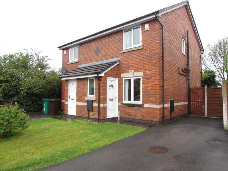 2 Bedrooms Semi Detached House for sale in Storeton Close, Peel Hall, Manchester, M22