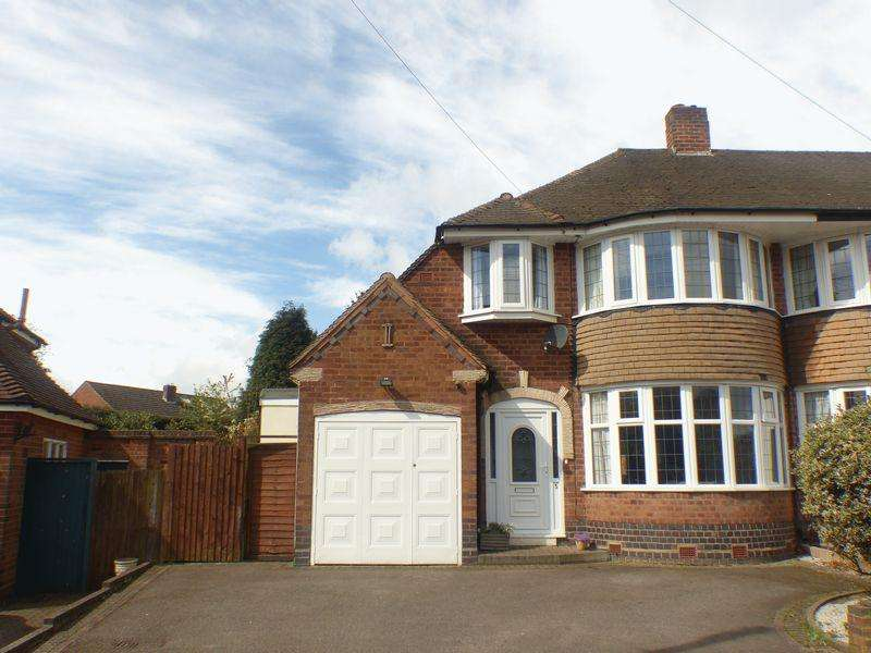 3 Bedrooms Semi Detached House for sale in Willmott Road, Four Oaks, Sutton Coldfield