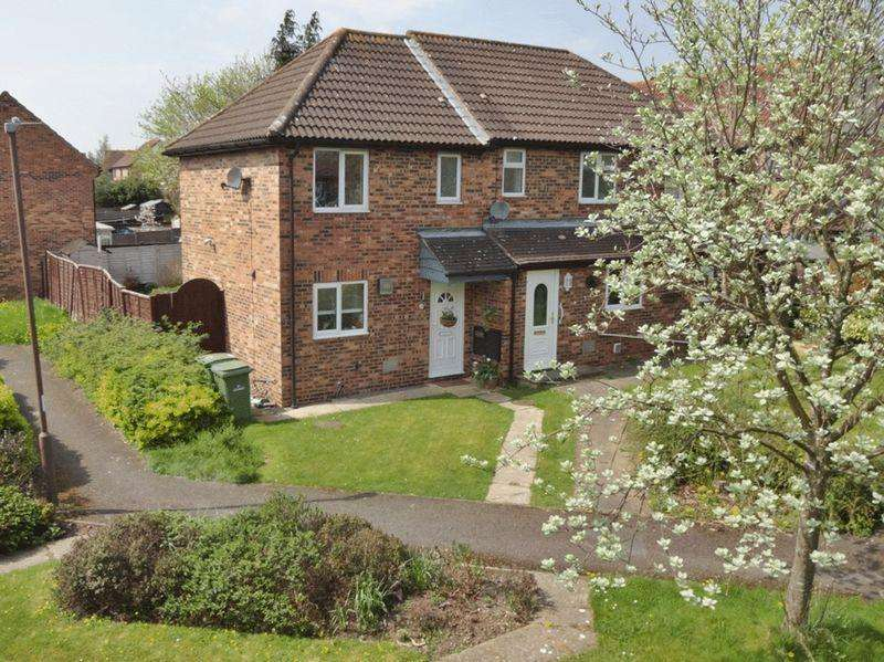 2 Bedrooms Semi Detached House for sale in Racecourse Estate