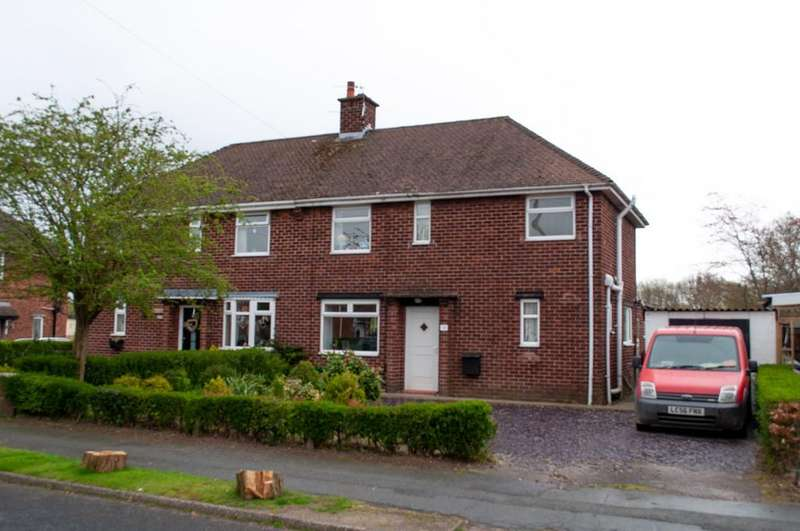 3 Bedrooms Semi Detached House for sale in Keepers Lane, Weaverham, Northwich, CW8