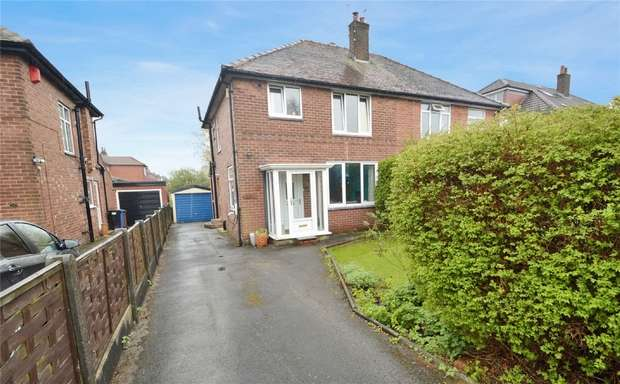 3 Bedrooms Semi Detached House for sale in Castleton Road, Hazel Grove, Stockport, Cheshire