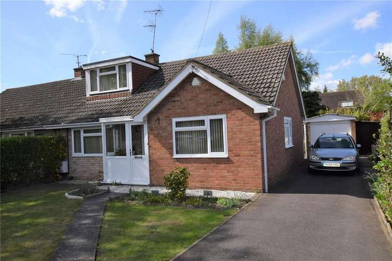 4 Bedrooms Semi Detached Bungalow for sale in Jordans Lane, Burghfield Common, Reading, RG7