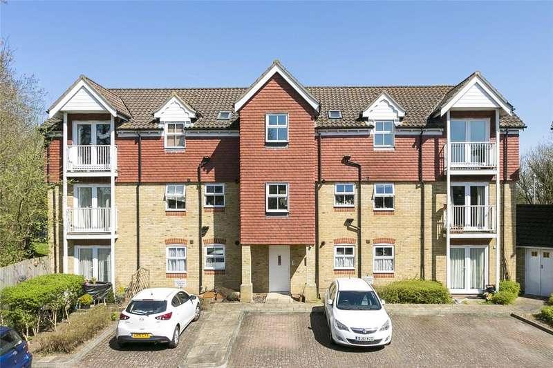2 Bedrooms Flat for sale in The Sidings, Dunton Green, Sevenoaks, Kent