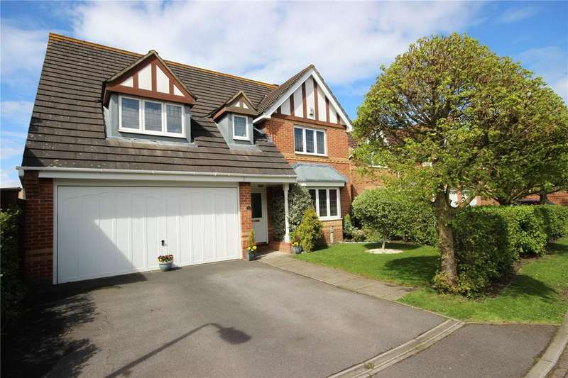 4 Bedrooms Detached House for sale in Crofters Walk, Bradley Stoke, Bristol, BS32