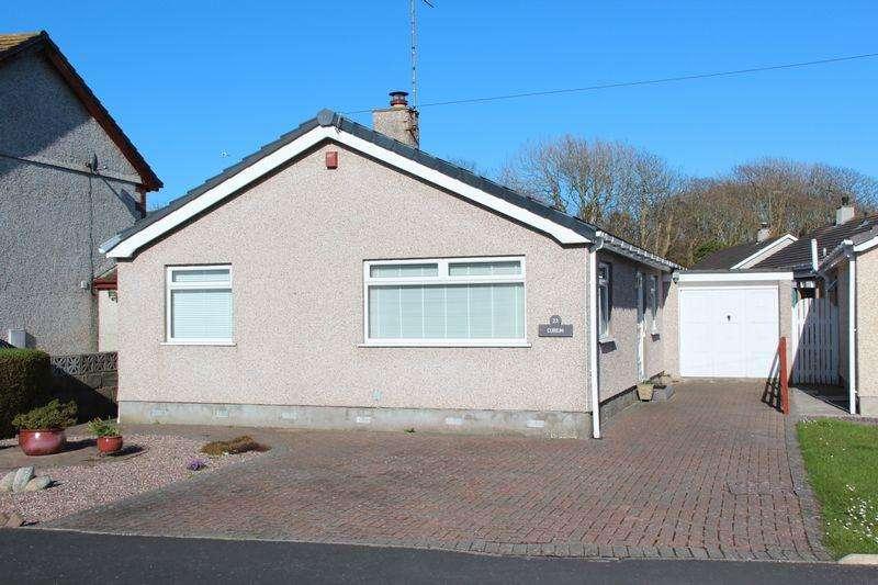 3 Bedrooms Detached Bungalow for sale in Garreglwyd Park, Holyhead