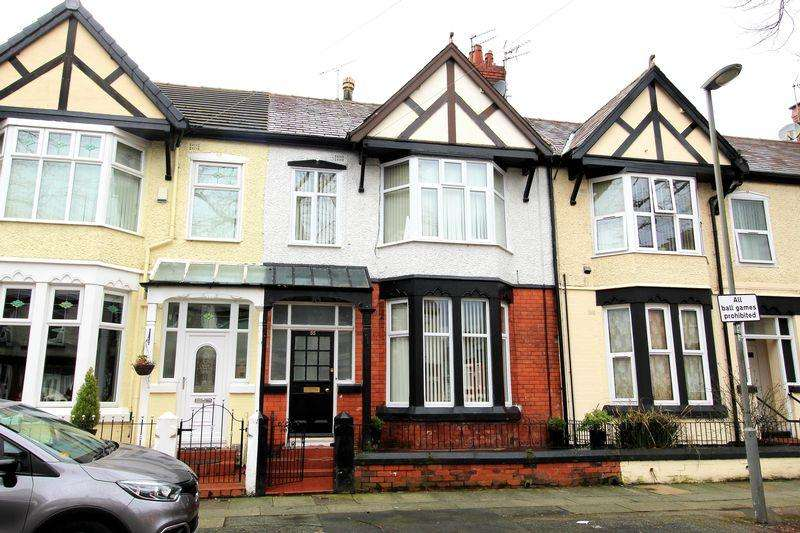4 Bedrooms Terraced House for sale in Elm Vale, Liverpool