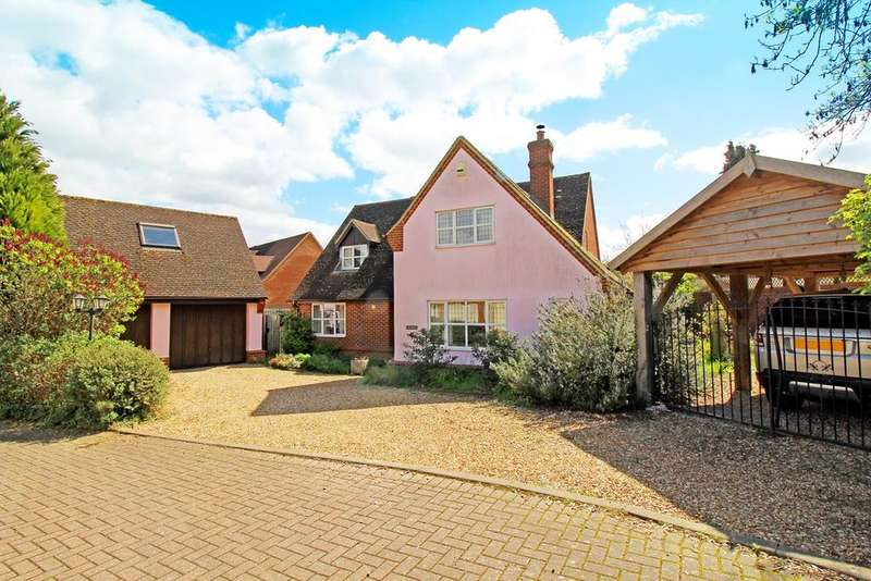 4 Bedrooms Detached House for sale in David Evans Court, Letchworth Garden City, SG6