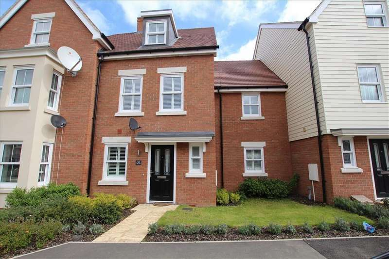 4 Bedrooms Terraced House for sale in Walker Mead, Biggleswade, SG18