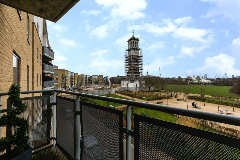 2 Bedrooms Flat for sale in Clock View Crescent, London, N7