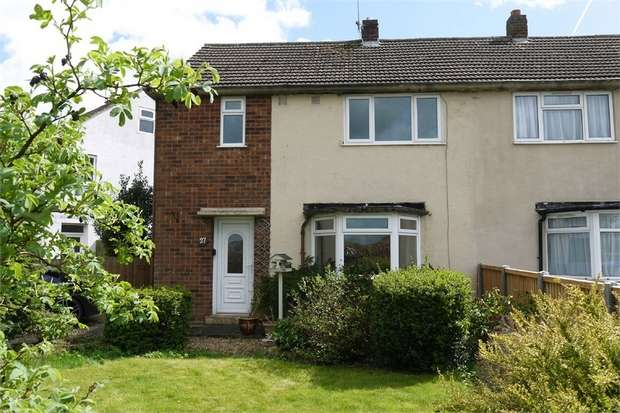 3 Bedrooms Semi Detached House for sale in Western Avenue, Market Harborough, Leicestershire
