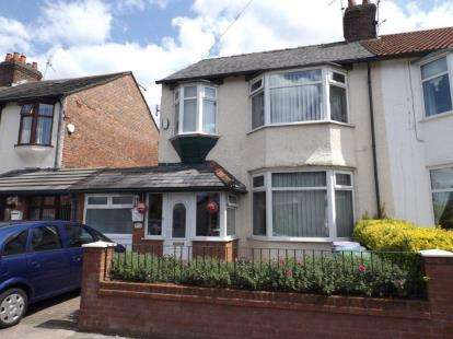 3 Bedrooms Semi Detached House for sale in Crescent Road, Walton, Liverpool, Merseyside, L9