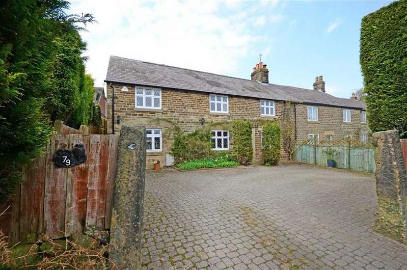 4 Bedrooms Cottage House for sale in Horseshoe Cottage, 79, Main Road, Holmesfield, Dronfield, Derbyshire, S18