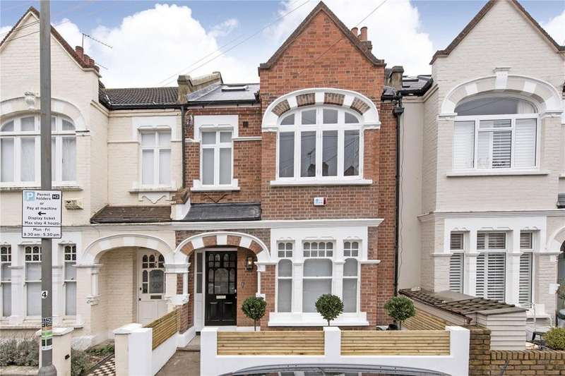 5 Bedrooms Terraced House for sale in Hosack Road, London, SW17