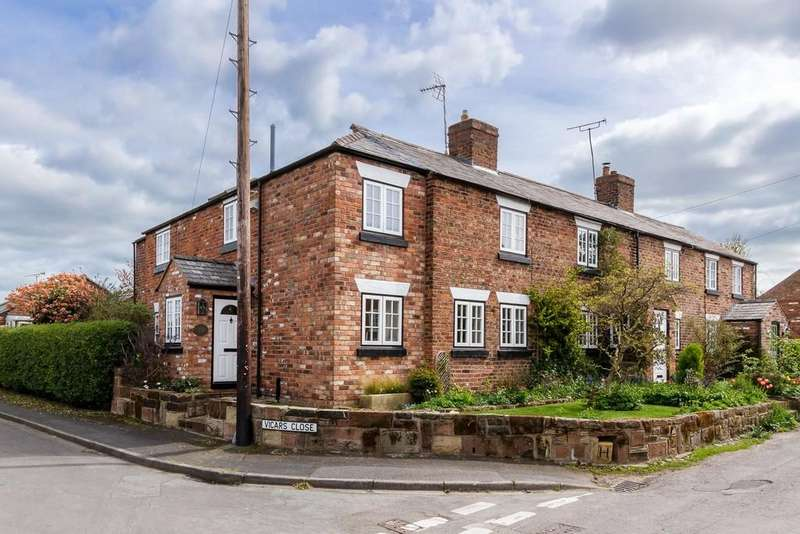 4 Bedrooms End Of Terrace House for sale in 4 Carters Cottage, Ashton Hayes, CH3 8BJ