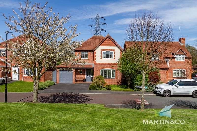 4 Bedrooms Detached House for sale in Bentley Green, Thornton-clevleys FY5