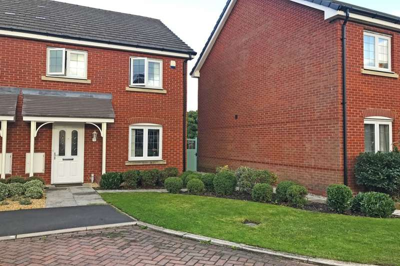 3 Bedrooms Semi Detached House for rent in Slackswood Close, Ellesmere Port, CH65