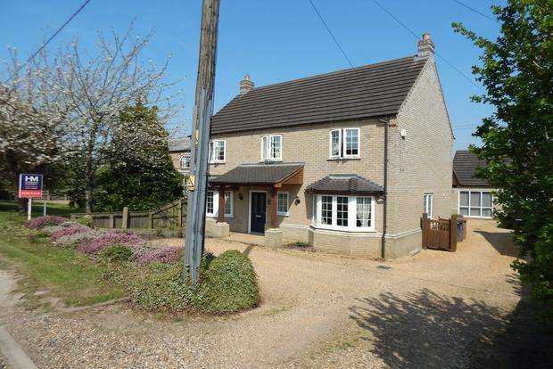 5 Bedrooms Detached House for sale in Gull Road, Guyhirn, Wisbech, PE13
