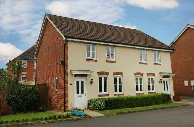 3 Bedrooms Semi Detached House for sale in Pippin Grove, Shinfield, Reading