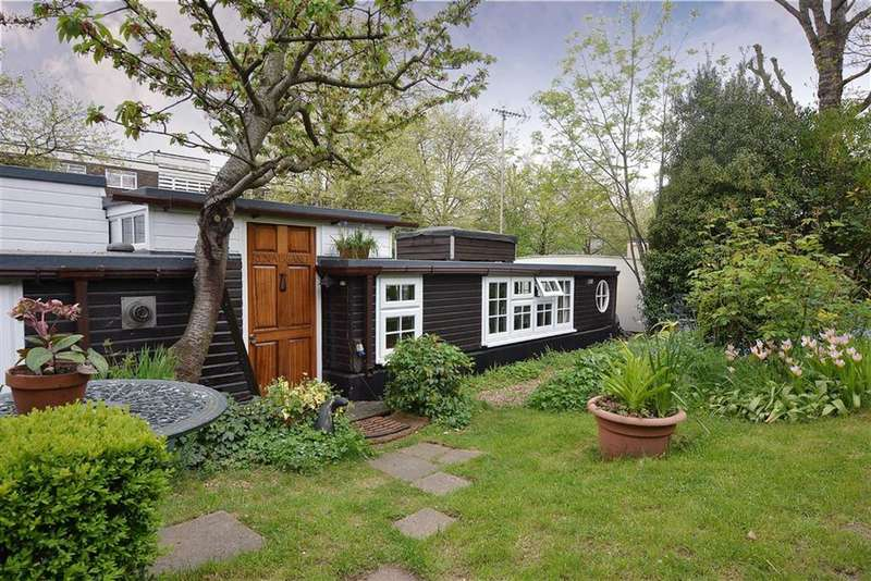 2 Bedrooms House Boat Character Property for sale in Blomfield Road, Little Venice, London, W9